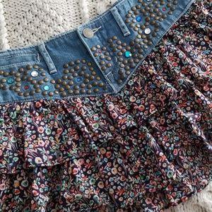 Gorgeous western style skirt